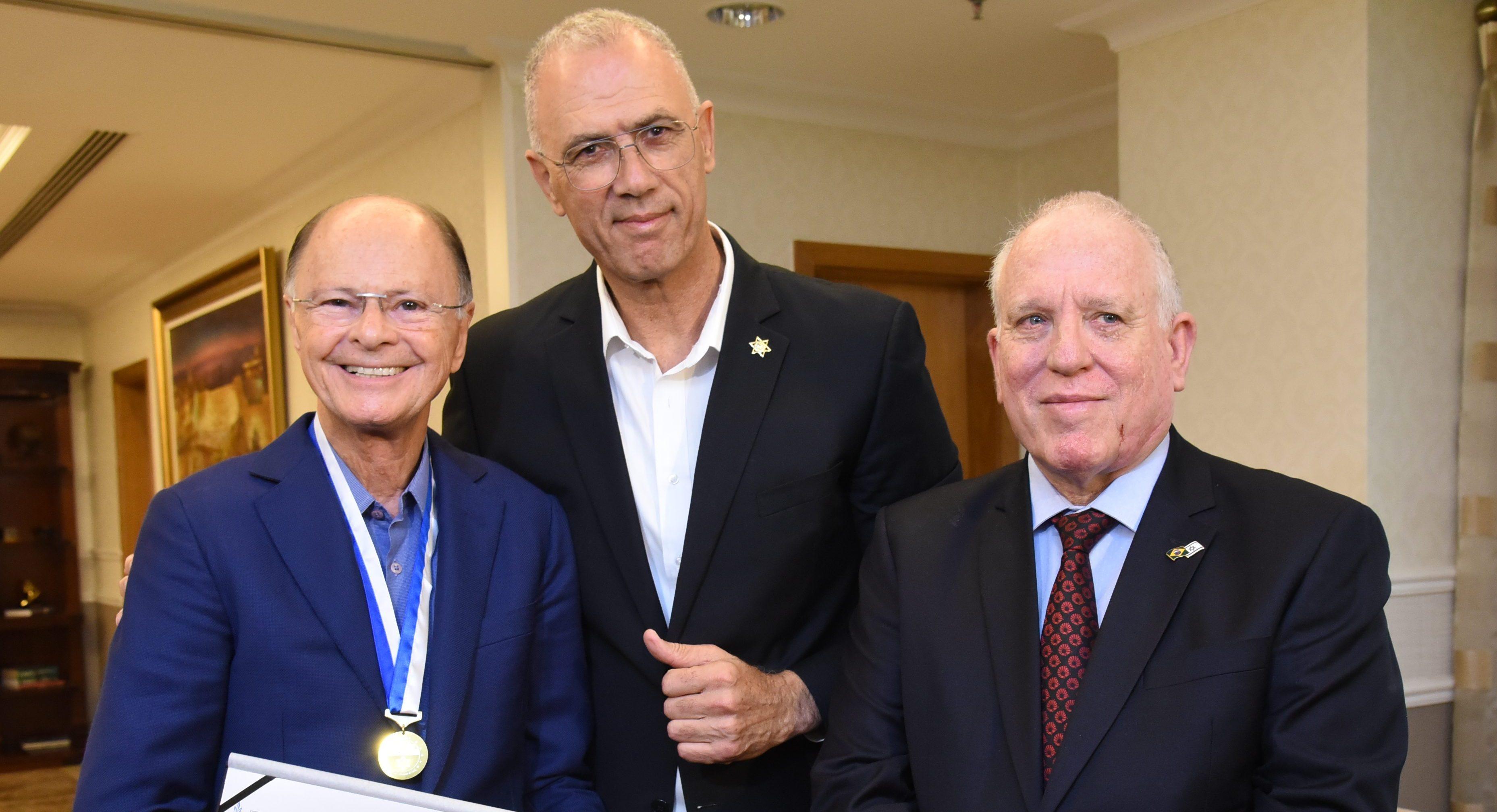 Bispo Edir Macedo recebe um dos maiores reconhecimentos do Estado de Israel