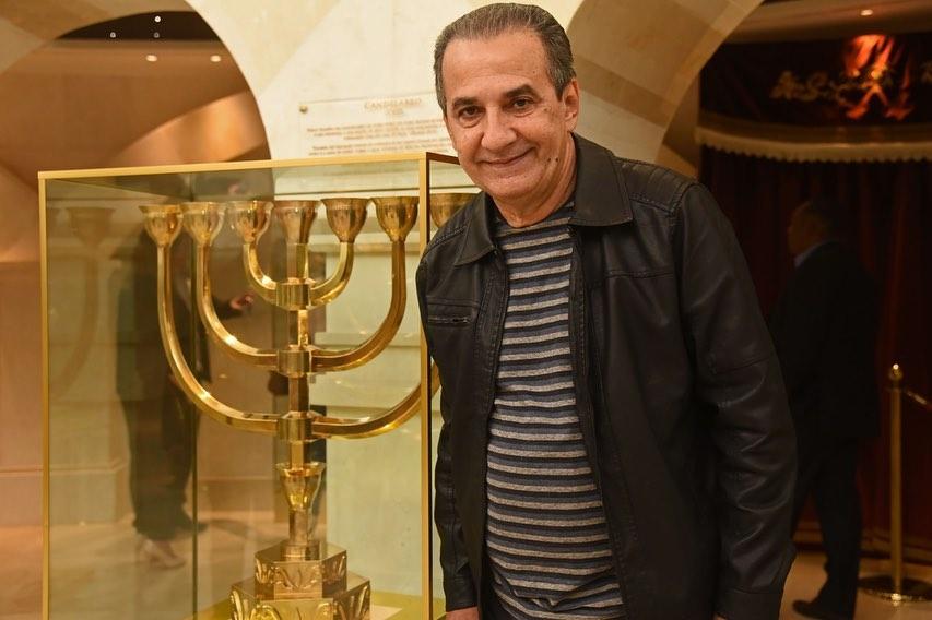 Pastor Silas Malafaia visita o Templo de Salomão