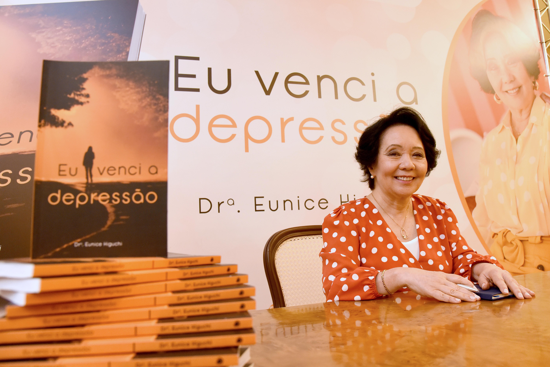 """Lançamento do livro """"Eu venci a depressão"""""""