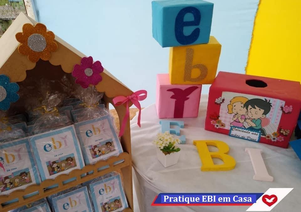 EBI em Casa de várias formas