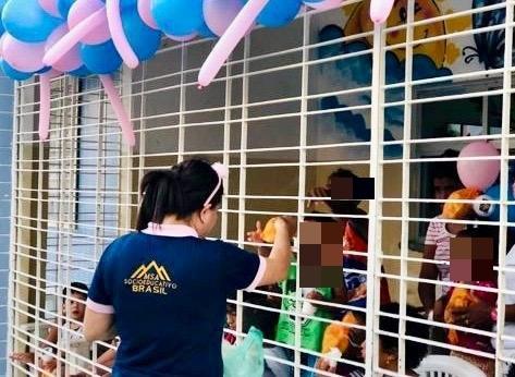 Milhares de brinquedos foram entregues em todo o País pelo Movimento Sócio Abrigo
