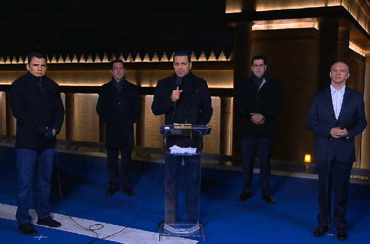 Oração da meia-noite: na caminhada da fé em preparação para a Fogueira Santa de Israel