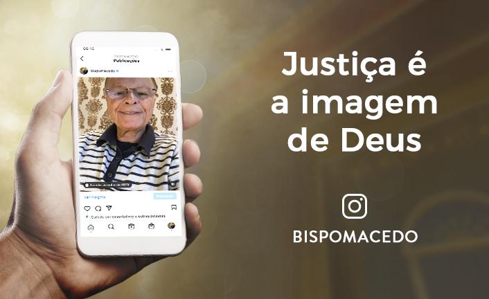 Justiça é a imagem de Deus