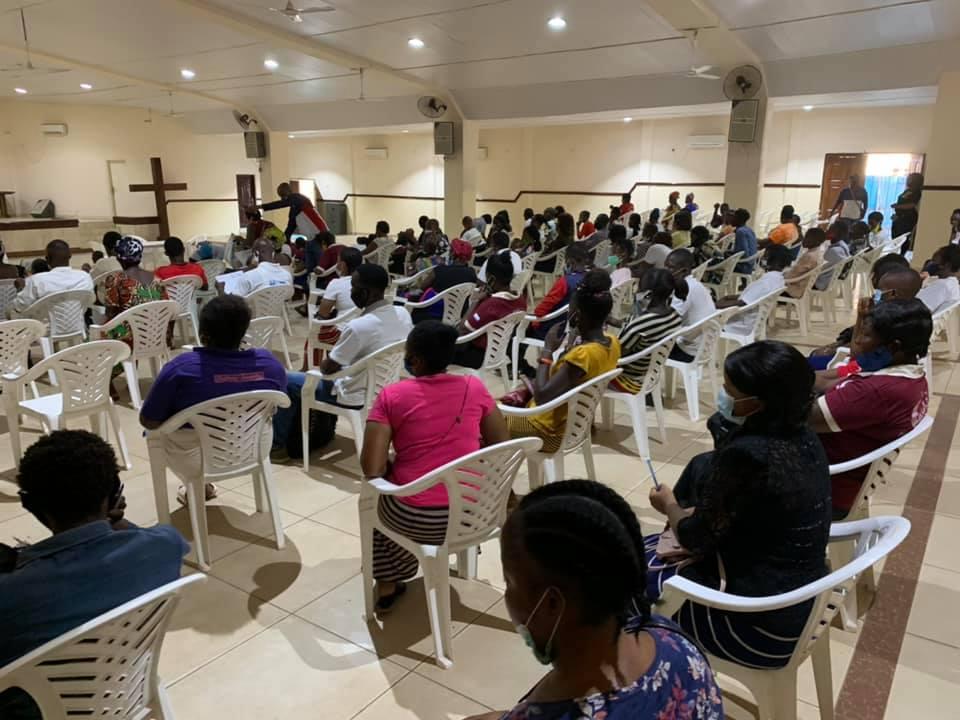 Grande doação de sangue acontece na Catedral de Serra Leoa