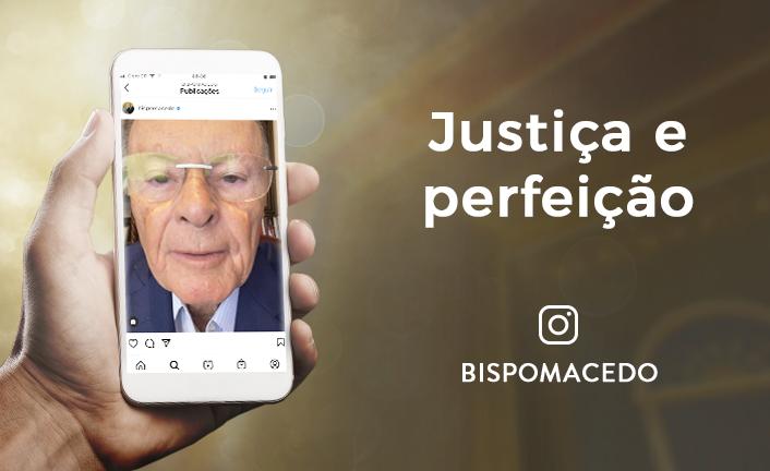Justiça e perfeição