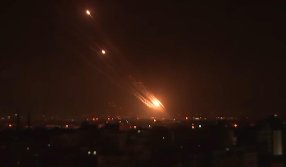 Palestinos islâmicos disparam mais de 1.800 mísseis contra Israel