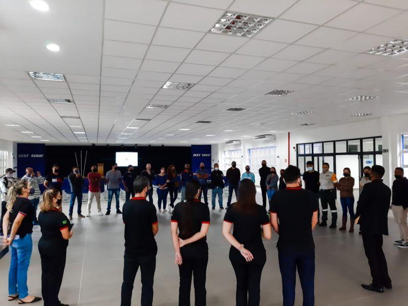 Grupo UFP de Praia Grande participa de treinamento de capacitação para agentes de trânsito