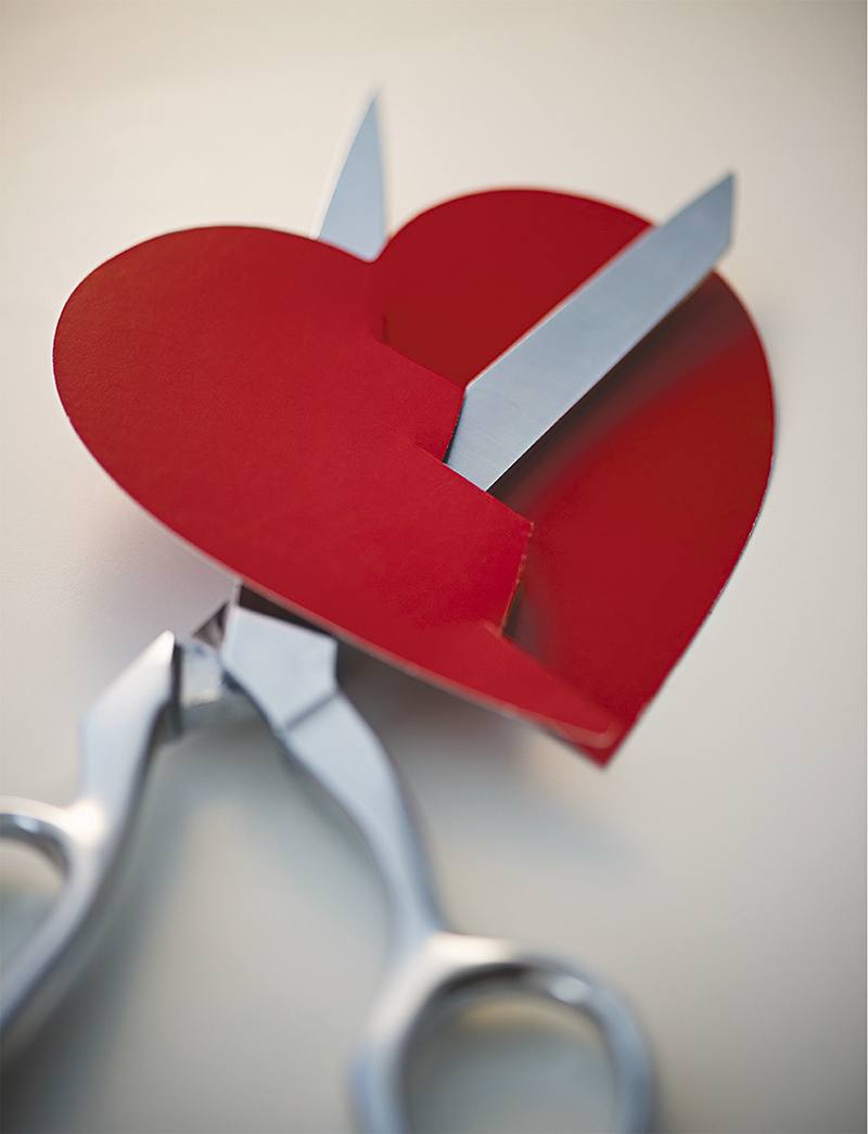 """""""Meu coração está dividido"""""""