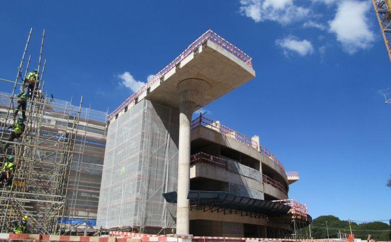 Construção da futura Catedral de Brasília avança