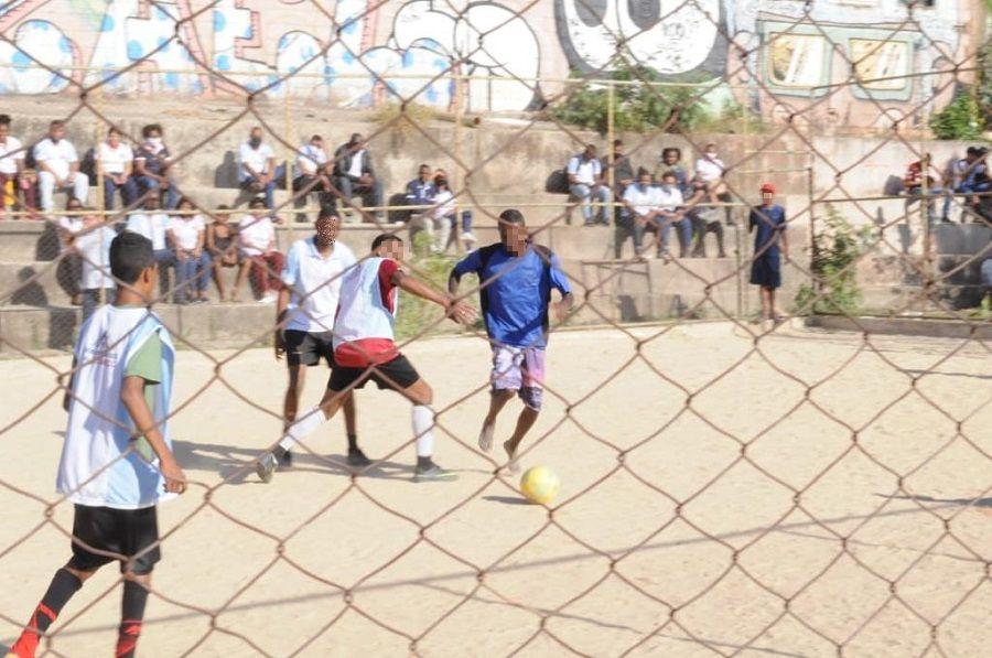 Torneio de futebol apresentou o caminho da fé aos adolescentes de comunidade