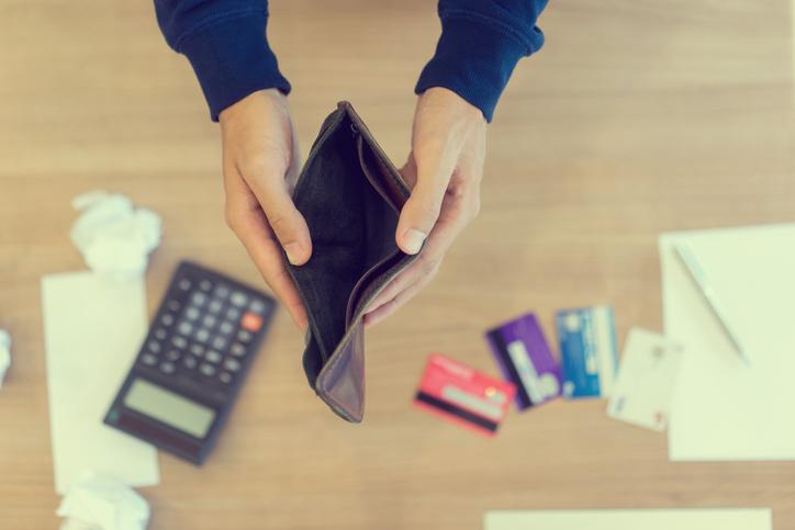 Maus hábitos e o fracasso financeiro