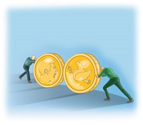 Com qual moeda você paga o mal?