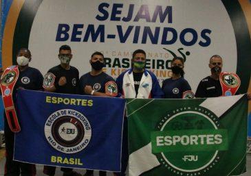 Atletas da FJU participam do 30º Campeonato Brasileiro de Kickboxing