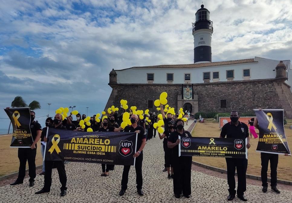 UFP Bahia realiza ação contra o suicídio