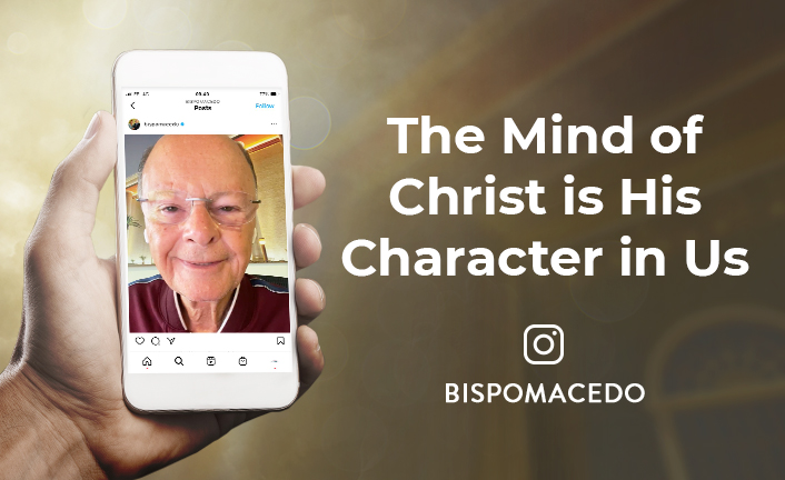 The Mind of Christ is His Character in Us